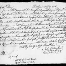 Silas Deane Papers: Barnabas Deane: Correspondence with John Hancock and others, 1776 June 1- 1777 November 15