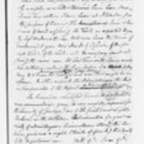 Jonathan Trumbull, Jr. correspondence with federal government, 1799-1800