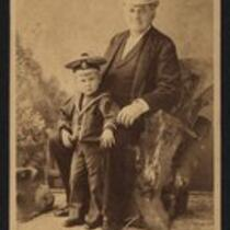 Photograph: Barnum and grandson Henry Rennell