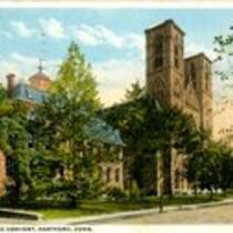 Cathedral and convent, Hartford, Conn.
