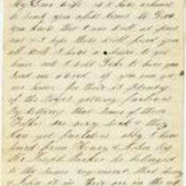 Letter of Joseph Cross, 1865 March 10