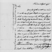 Correspondence with Tristram Dalton, Samuel Parsons, Eliphalet Dyer and others, 1775 September 1-15