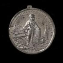 Physical object: Stratton medal with American Museum and Barnum on other side