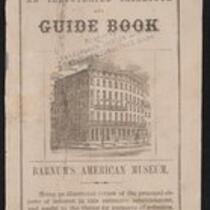 Booklet: Guide Book for Barnum's American Museum, 1850