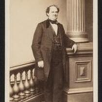 Photograph: Full length portrait of P.T. Barnum, middle aged