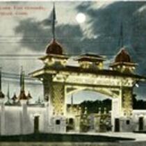 Entrance Conn. fair grounds (Luna Park), Hartford, Conn.