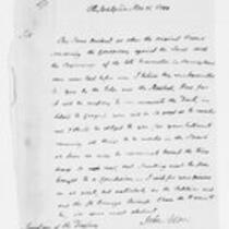 Oliver Wolcott Jr. papers, Box 24, Folder 8