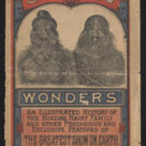 Courier: Barnum's Wonders, an Illustrated History of the Hindoo Hairy Family and other prodigious and exclusive features