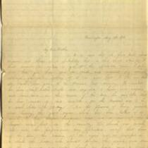 Letter from Charlotte to Samuel Cowles, 1836 May 19.