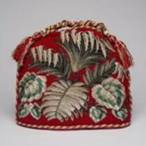 Physical object: Tea cozy belonging to P. T. Barnum