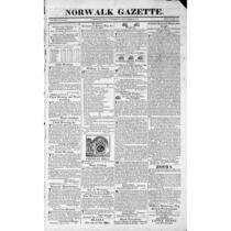 Norwalk Gazette, 1818-1883