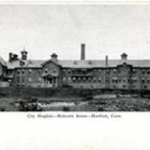 City Hospital, Holcomb Street, Hartford, Conn.