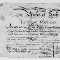 Oliver Wolcott, Jr. Papers: Awards and appointments, 1781-1819