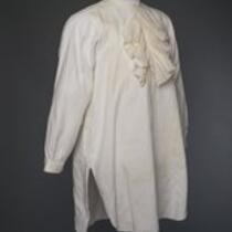 Textile: Dress shirt belonging to P. T. Barnum