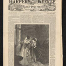 Newspaper: Uncut edition of Harper's Weekly, April 14, 1866