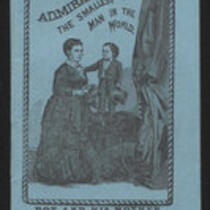 Booklet: Admiral Dot the Smallest Man in the World and Annie Jones, the Bearded Girl