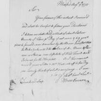 Correspondence with Moses Emerson, Moses Gill, Jedediah Huntington, Christopher Leffingwell, 1775 August 9-13