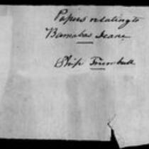 Silas Deane Papers: Barnabas Deane: Ship Trumbull Papers, 1776-1792