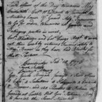 American Revolution Collection: Continental Regiments orderly book, 1776