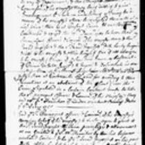 Silas Deane Papers: Business and Legal: Contracts for masts with British government, J. Ingersoll, 1760