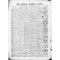 Berlin weekly news, 1891-1892