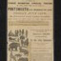 Newspaper ad: