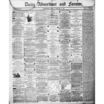 Daily advertiser and farmer (Bridgeport, Conn.), 1856-1861