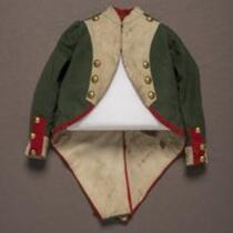 Textile: Napoleon costume jacket belonging to Charles S. Stratton