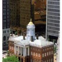 Old State House (aerial view), Hartford