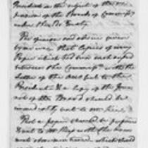 Oliver Wolcott, Jr. Papers: Draft of a report to the President, 1799-1814