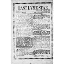East Lyme star, <1866-1867>