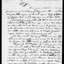 Silas Deane Papers: Correspondence Robert Morris to Silas Deane 1776 June 5, 6