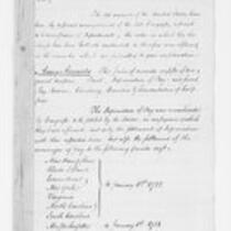 Oliver Wolcott, Jr. Papers: Comptroller's Office report, 1792, 1800