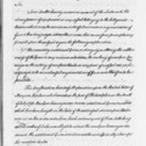 Jonathan Trumbull, Jr. correspondence with federal government, 1794-1797