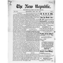 New republic, 1895-1896