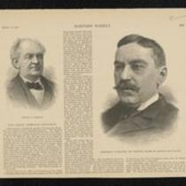 Newspaper: Harper's Weekly and the Independent, Articles regarding Barnum's death