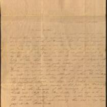 Letter from Charlotte to Samuel Cowles, 1833 October 13, 15.