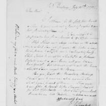 John Trumbull Papers: Correspondence of John Trumbull with David Trumbull, 1775