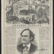 Courier: P.T. Barnum's Advanced Courier for South Paris, August 1, 1871