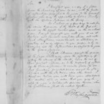 Oliver Wolcott, Jr. Papers: Correspondence and documents concerning relations with France, 1796-1800