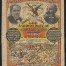Courier: P.T. Barnum's Greatest Show on Earth in London, November 11, 1889