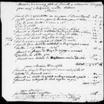 Silas Deane Papers: Accounts: Silas Deane's expenses in France and America, 1779