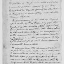 Oliver Wolcott, Jr. Papers: Correspondence and drafts of reports on treaties with Great Britain, 1800