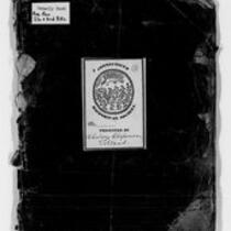 American Revolution Collection: Continental Regiments orderly book, 1775
