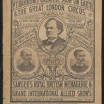 Courier: Advance Courier of Barnum's Greatest Show on Earth and the Great London Circus for May 18, 1881