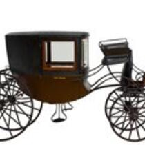 Physical object: Miniature Carriage for General Tom Thumb (Charles S. Stratton)