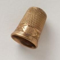 Physical object: Thimble belonging to M. Lavinia Warren