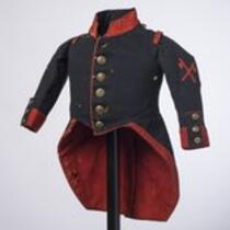 Textile: Military style jacket belonging to Charles S. Stratton
