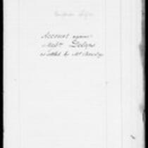 Silas Deane Papers: Account against Mssrs. Delaps as settled by Mr. Barclay and attested by Register, 1834-1835