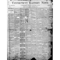 Connecticut eastern news, 1894-1898